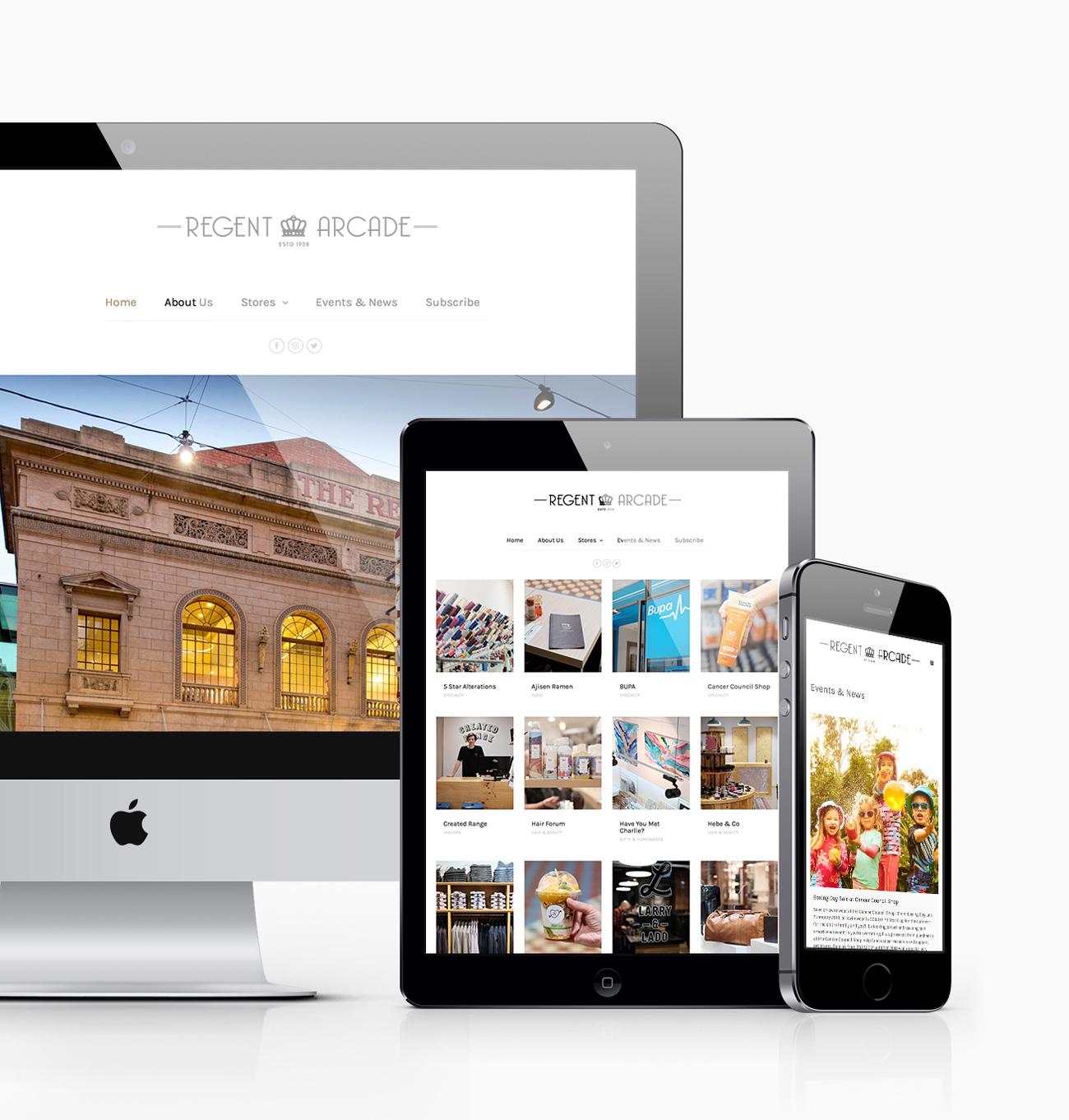 regent-arcade-website