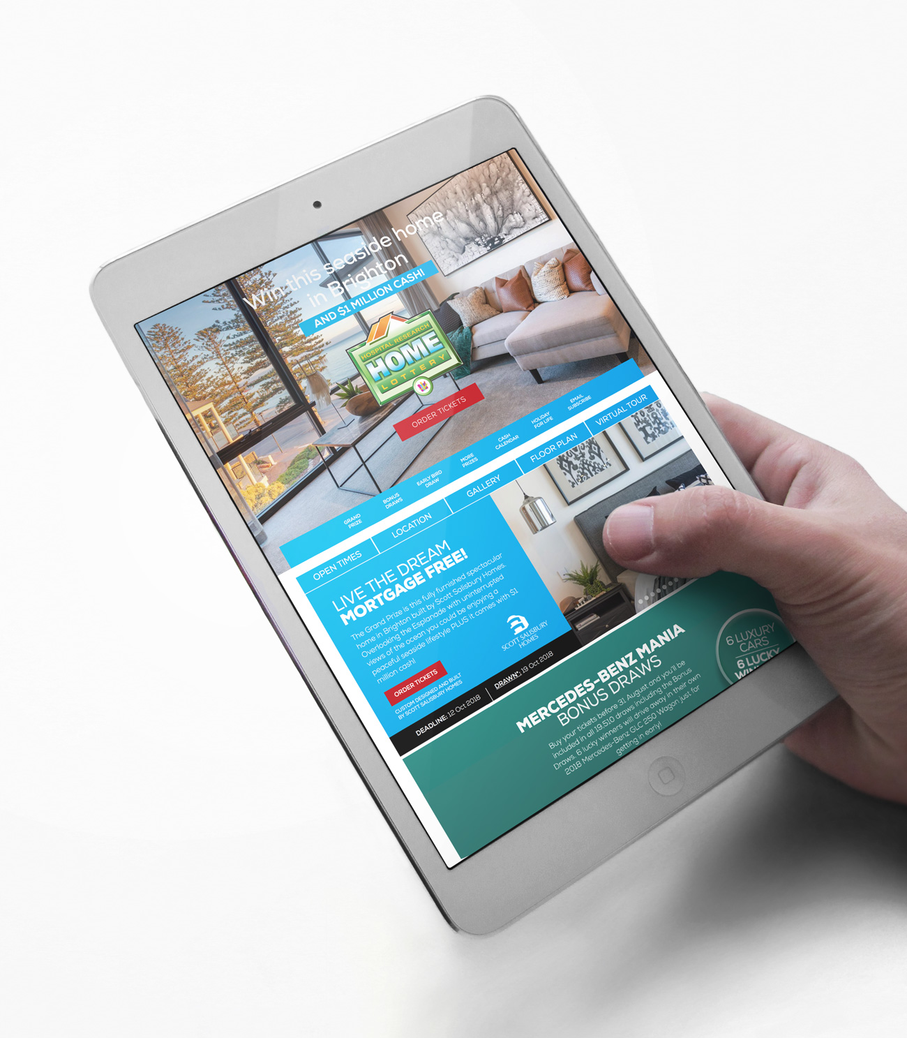 home-lottery-website-tablet