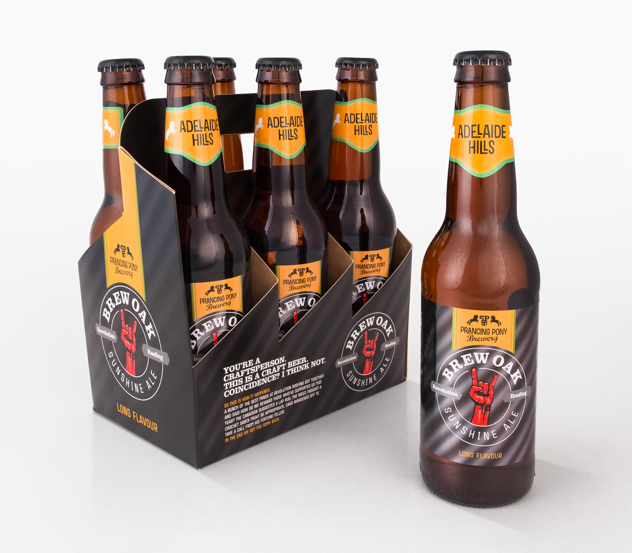 revolution-roofing-six-pack-and-label